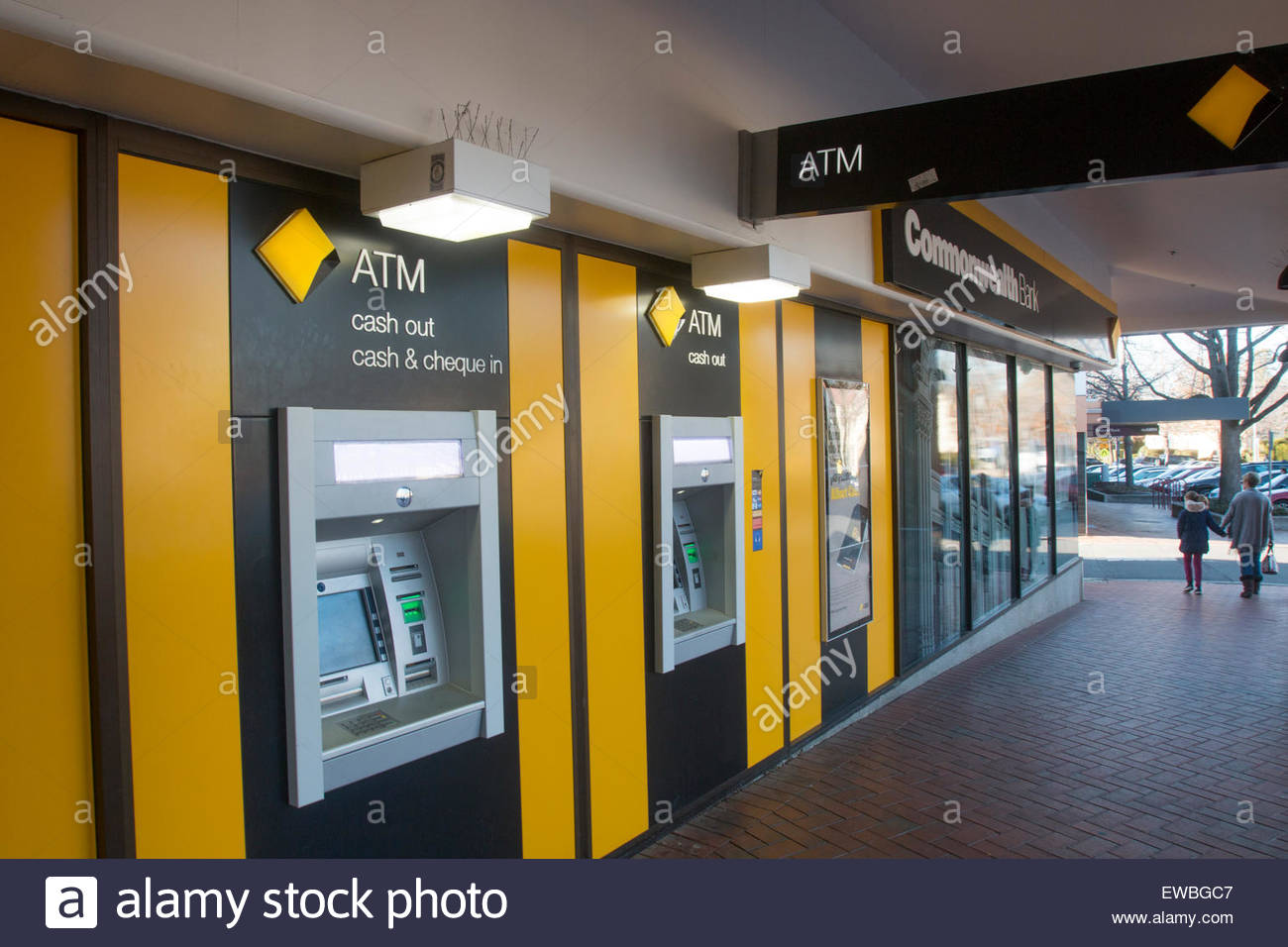 Commonwealth Bank branch Sydney, Commonwealth Bank of Australia CBA bank branch in Manuka a suburb ...