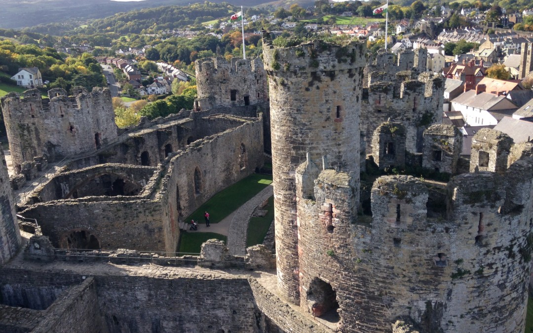 Conwy Castle Conwy, Video Tour of Conwy Castle, Wales | Irish history podcast