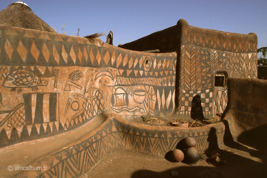 Cour Royale Tiébélé & Kassena Country, The Painted Village of Burkina Faso, Africa   Unusual Places