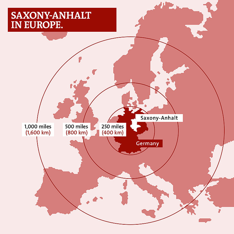 The Anger Saxony, Saxony-Anhalt and Thuringia, Getting there - Sachsen-Anhalt-Tourismus