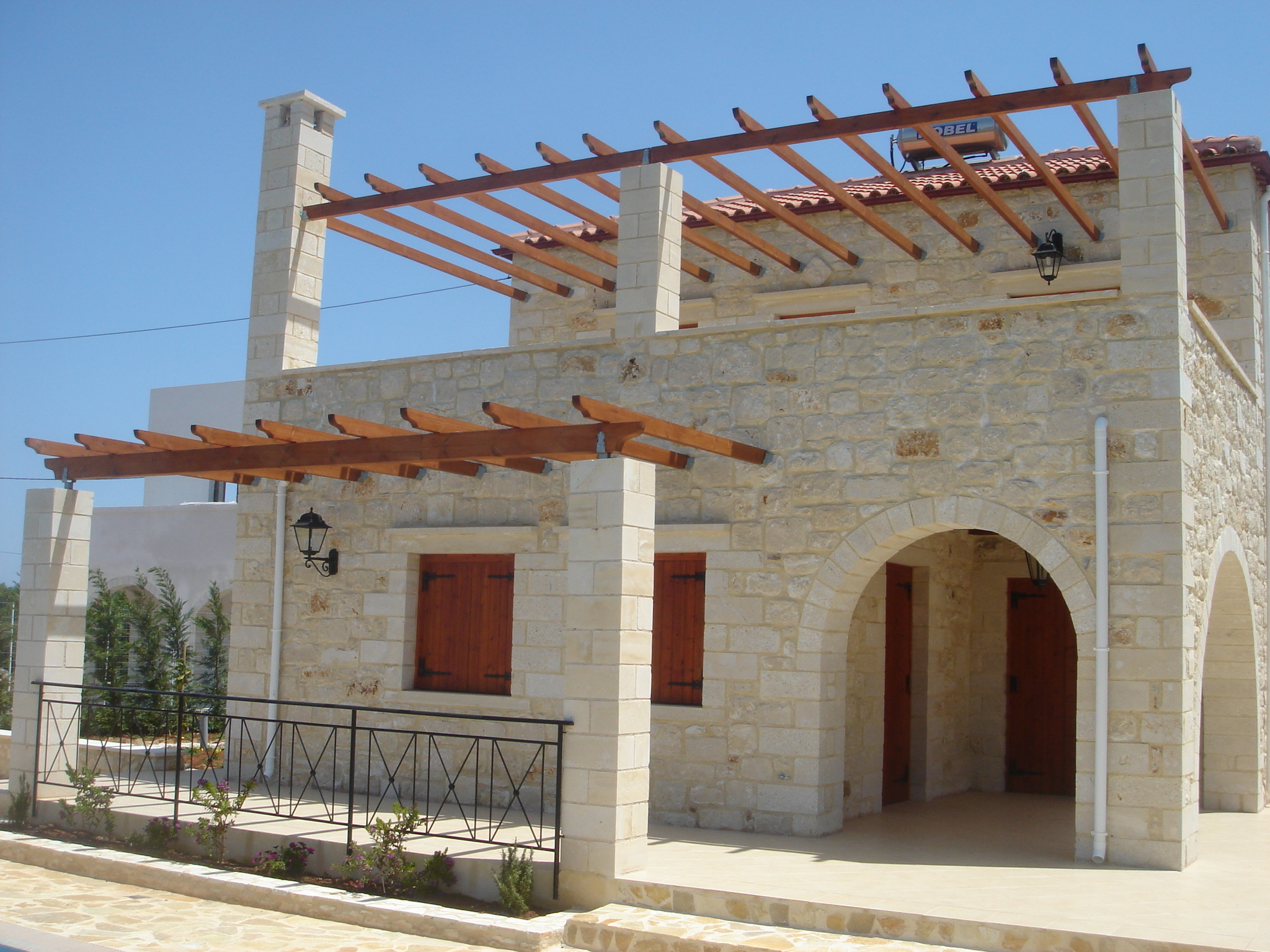 Cretan House Crete, Building Styles | Traditional | Cretan Homes | Stone Villas ...