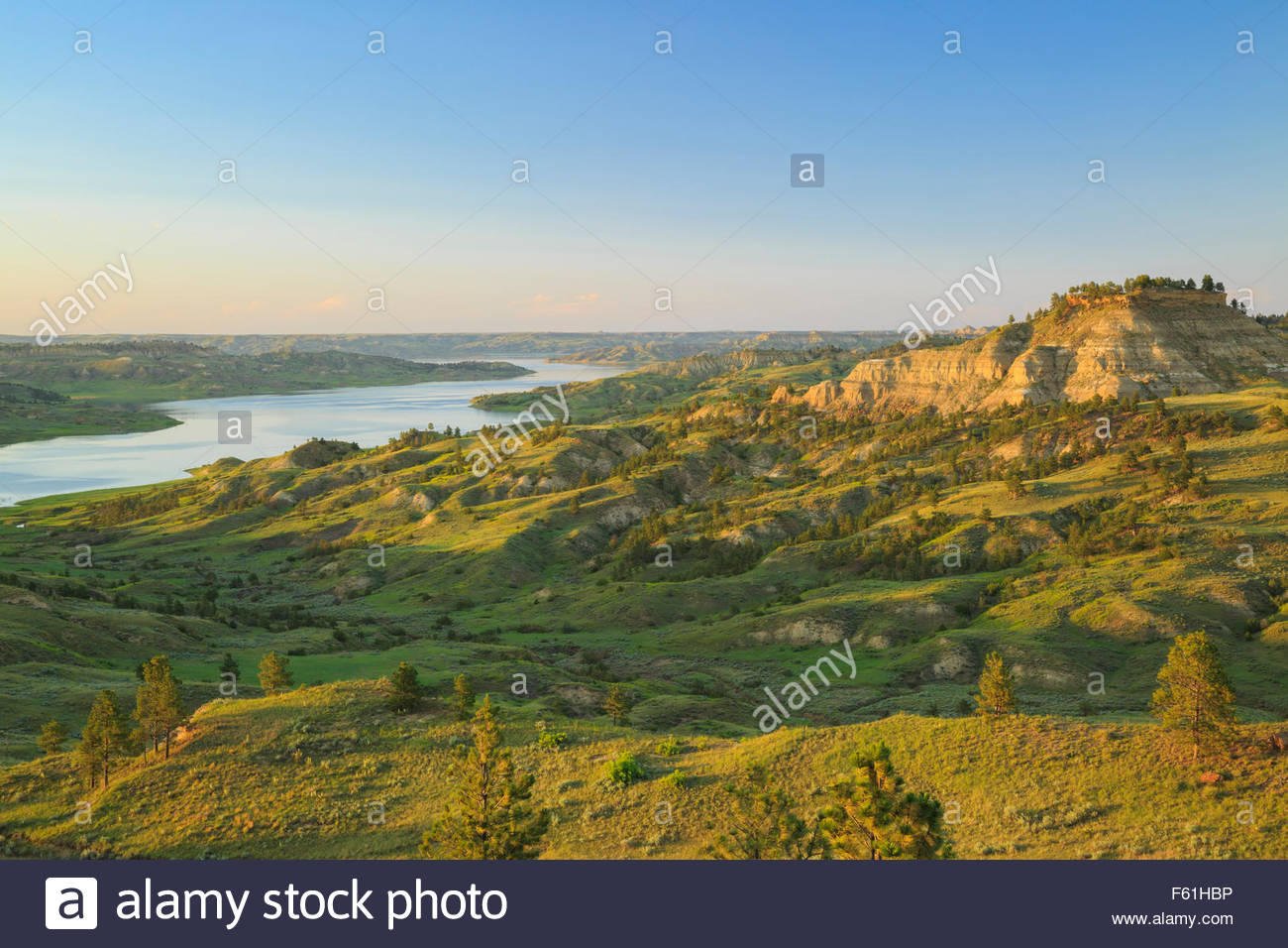 Custer National Forest, Sioux Ranger District Billings, Little Big Horn, and the Montana Plains, Charles Russell Stock Photos & Charles Russell Stock Images - Alamy