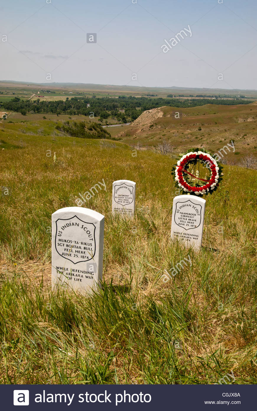 Custer National Forest, Sioux Ranger District Billings, Little Big Horn, and the Montana Plains, Massacre At Little Bighorn Stock Photos & Massacre At Little ...
