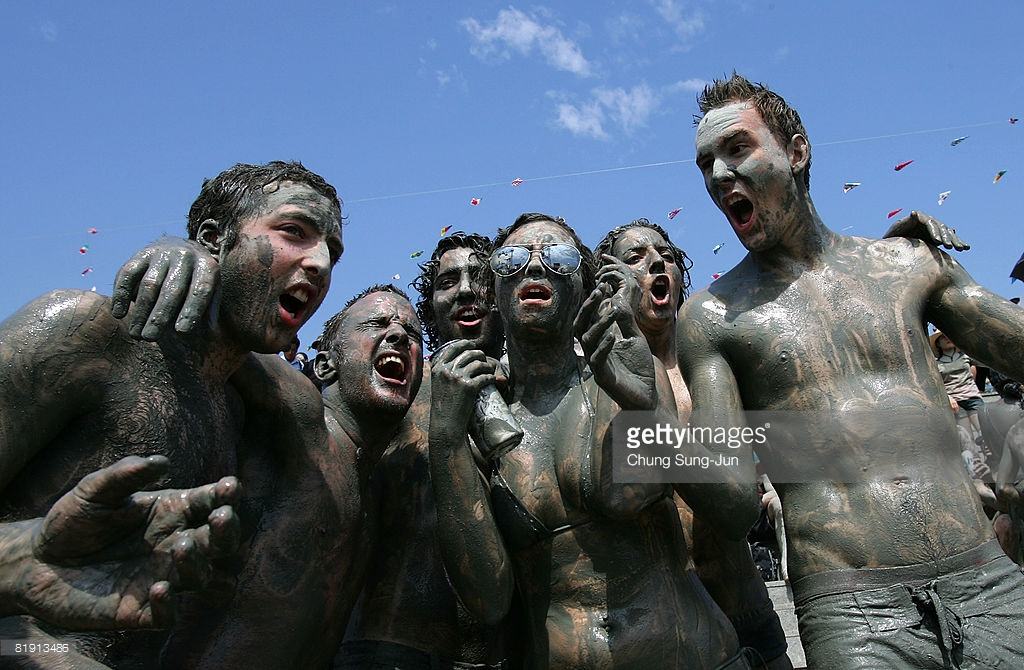 Daecheon Beach Boryeong, 11th Annual Mud Festival Takes Place In Boryeong Photos and Images ...