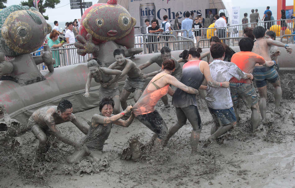 Daecheon Beach Boryeong, Boryeong Mud Festival in South Korea – The Eye