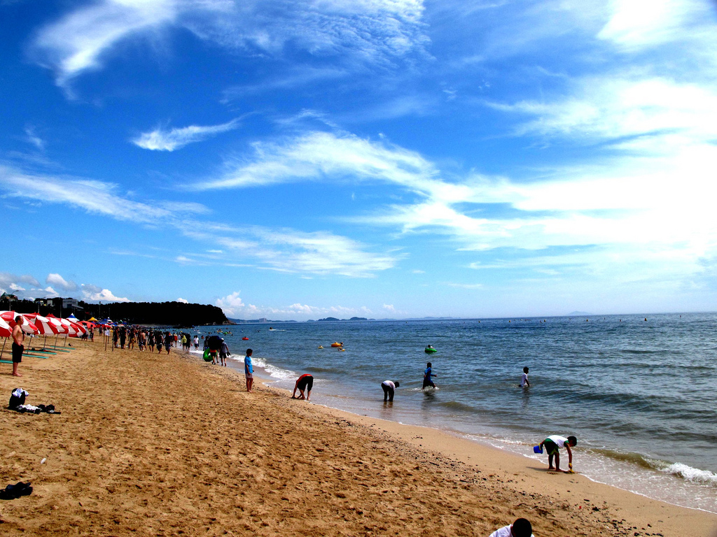 Daecheon Beach Boryeong, So, where's my favorite beach? |