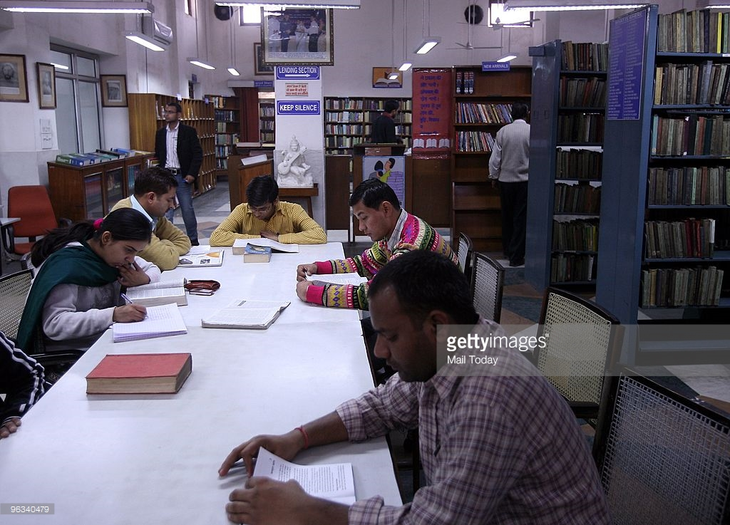 Delhi Public Library Delhi, Delhi Public Library Set For A Makeover Pictures | Getty Images