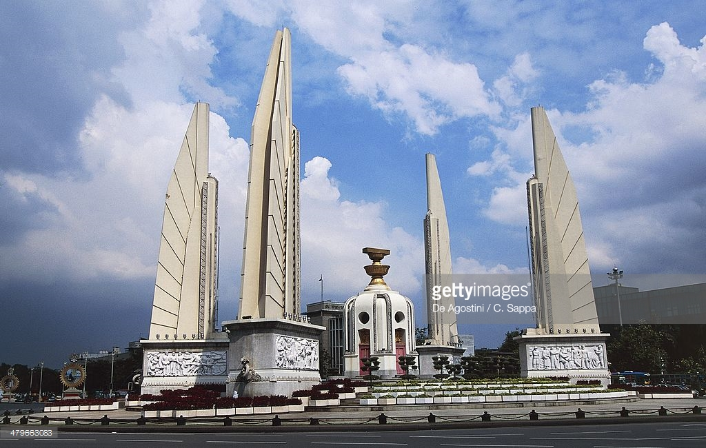 Democracy Monument Bangkok, Democracy Monument 1939 By Corrado Feroci Bangkok Thailand 20th ...