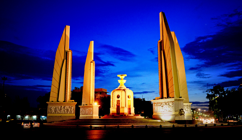 Democracy Monument Bangkok, The Democracy Monument | The Democracy Monument in Bangkok..… | Flickr