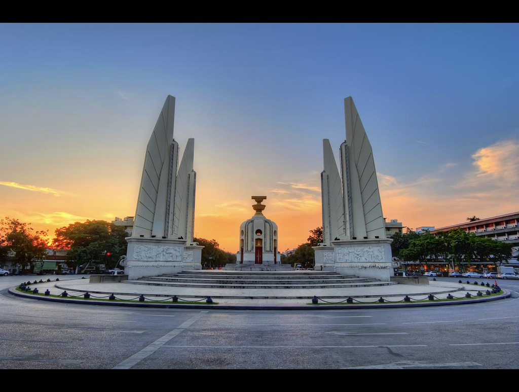 Democracy Monument Bangkok, Democracy Monument (Plate 3) | Bangkok | Democracy Monument … | Flickr