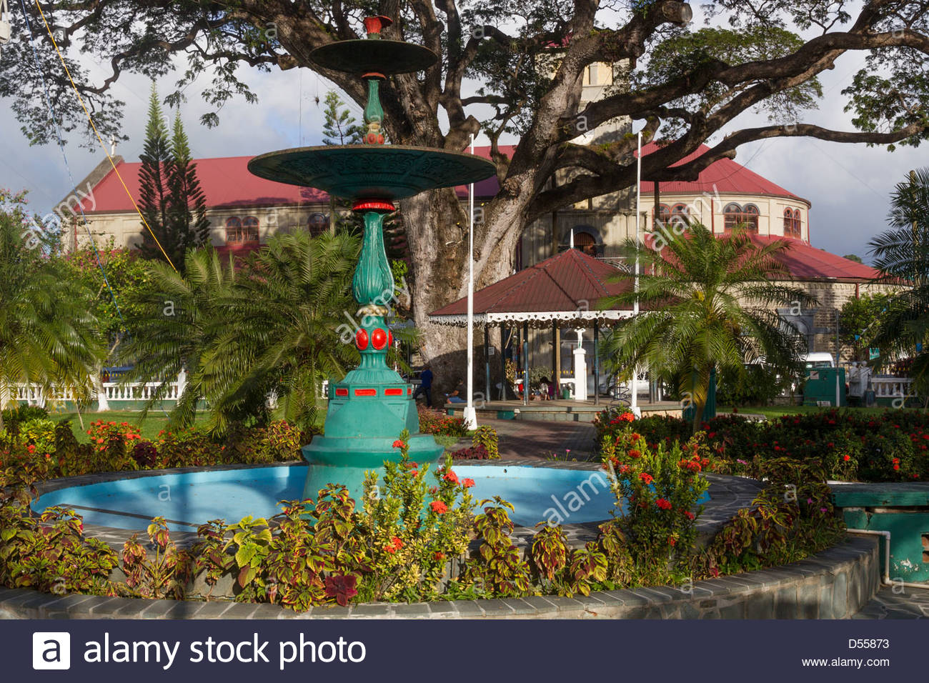 Derek Walcott Square Castries, St.Lucia Castries, Derek Walcott square Stock Photo, Royalty Free ...