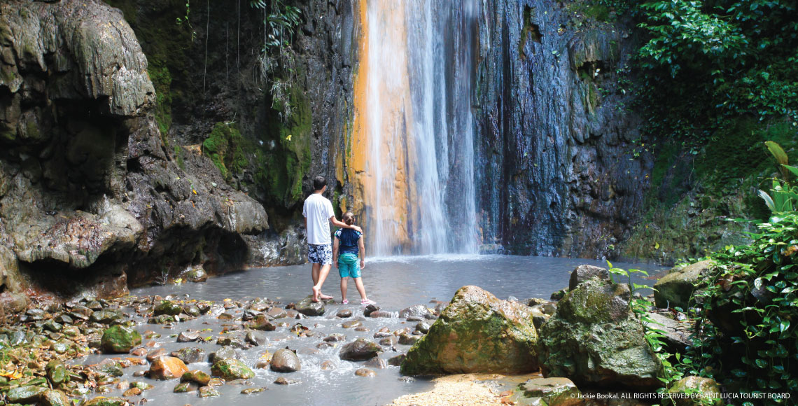 Diamond Falls Botanical Gardens & Mineral Baths Soufrière & The Pitons, Things to See and Do in St. Lucia | Coco Palm Resort