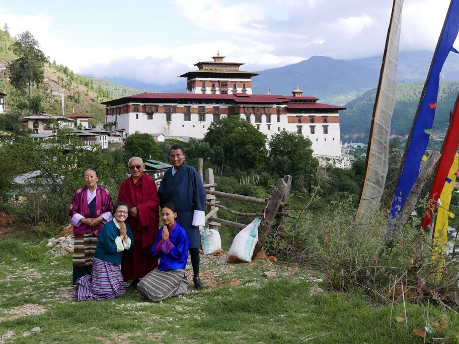 Dilgo Khyentse Rinpoche's Residence Memorial House Upper Paro Valley, Bhutan May-June 2016 - FPMT