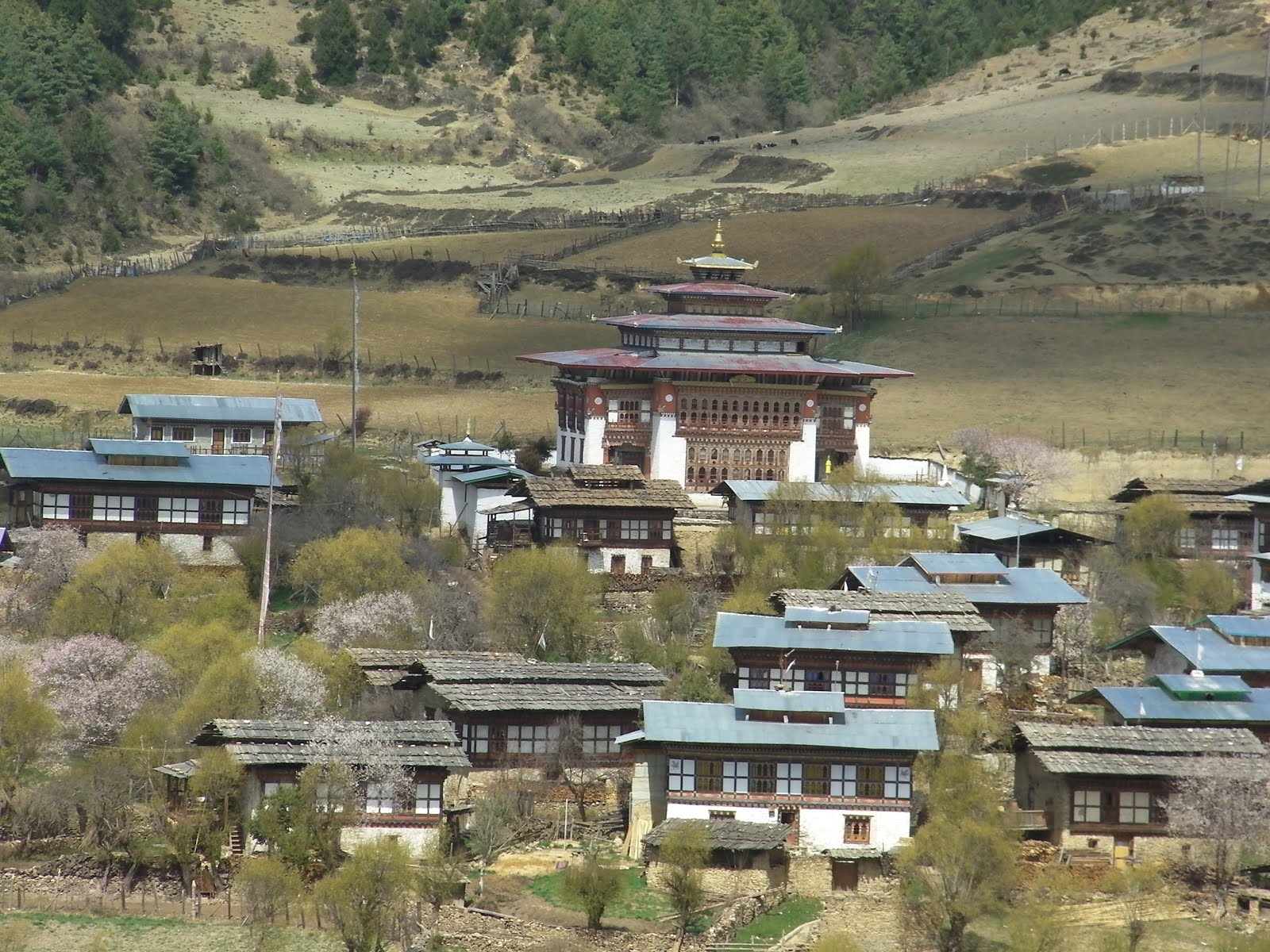 Dilgo Khyentse Rinpoche's Residence Memorial House Upper Paro Valley, Folkways Institute: BHUTAN: Hiking the Dragon Kingdom East (2016)