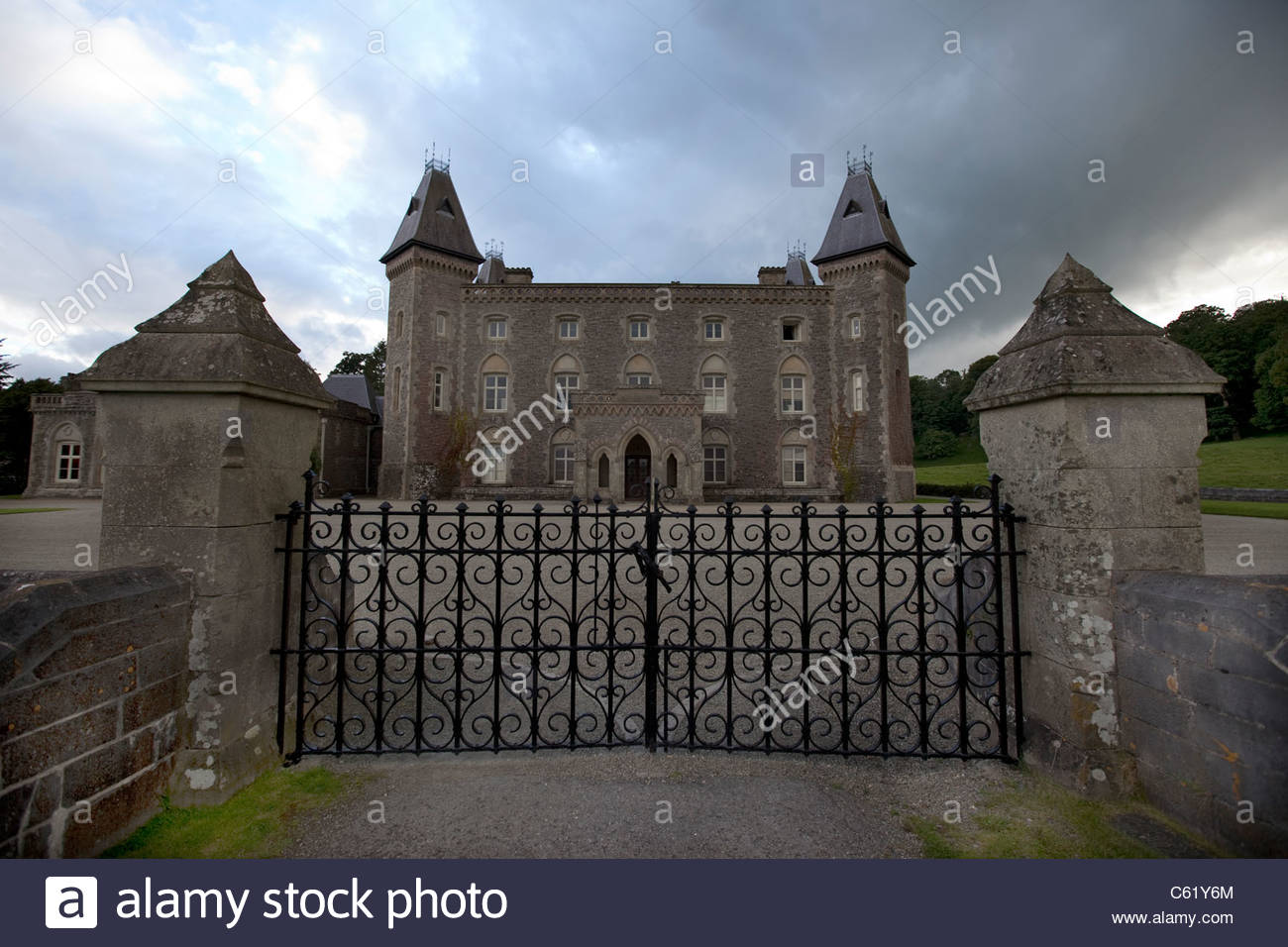Dinefwr Llandeilo, Newton House in Dinefwr Country Park, Llandeilo, Wales - owned by ...