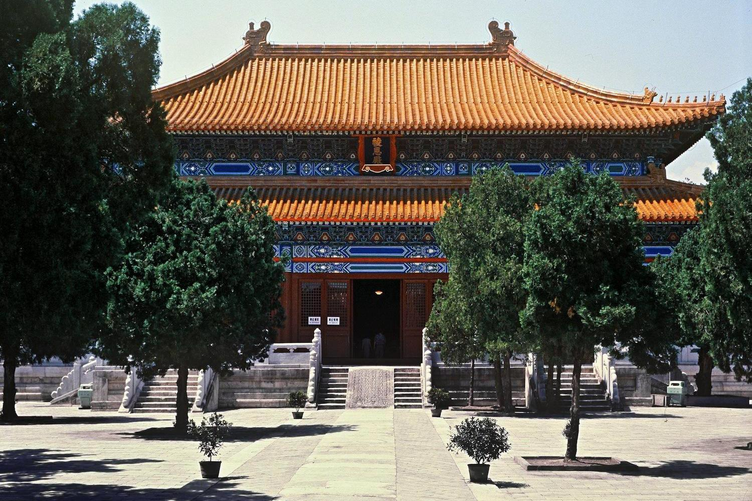 Divine Music Administration Běijīng, The Classic – The Sacred Way, Ming Tombs and Badaling section of ...