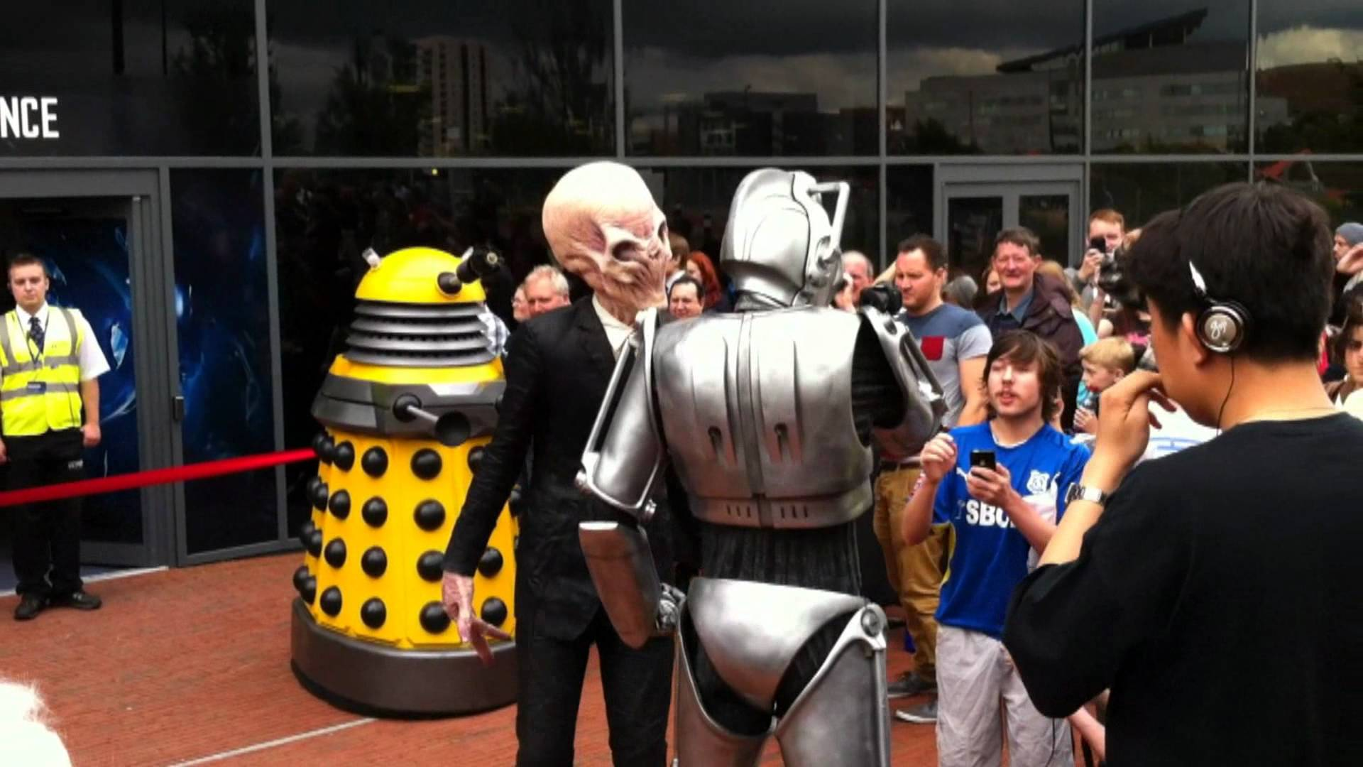 Doctor Who Experience Cardiff, The Doctor Who Experience Opening Cardiff Bay - YouTube