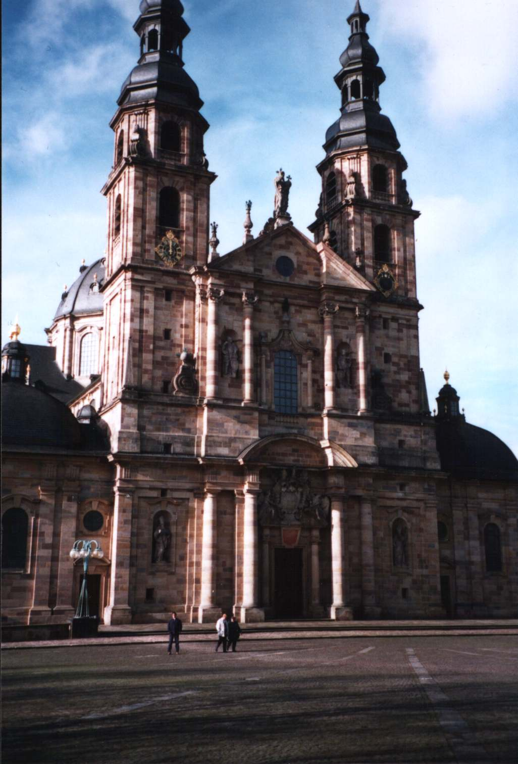 Dom zu Fulda The Fairy-Tale Road, Fulda, Abbey Church. Fulda grew around a Benedictine abbey founded ...