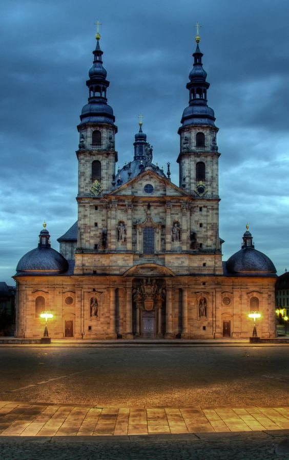 Dom zu Fulda The Fairy-Tale Road, Downs Barracks, Fulda, Germany | Places I've been... | Pinterest ...