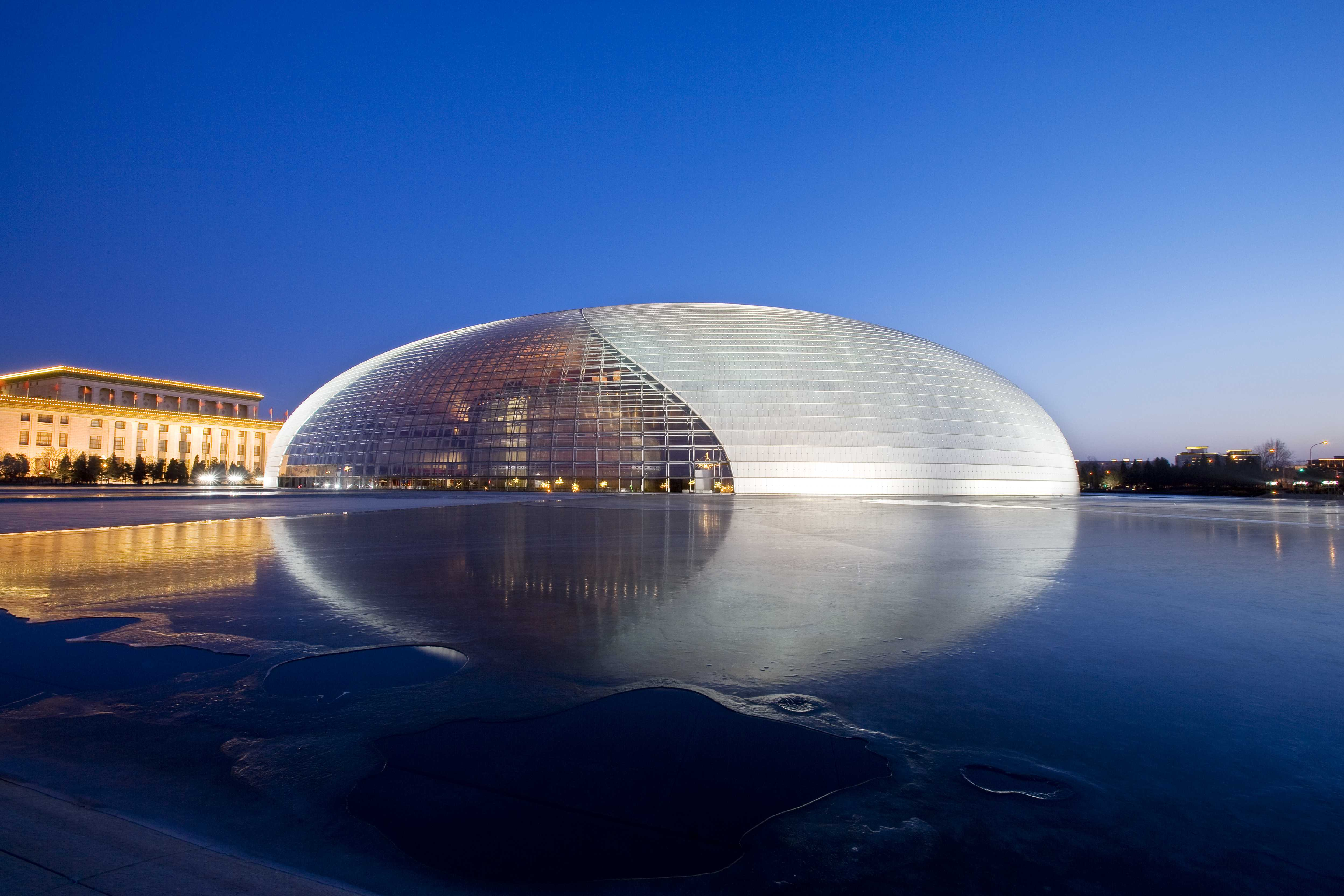 Dragon King Temple Běijīng, National Centre For The Performing Arts (NCPA), Beijing, China (30 ...