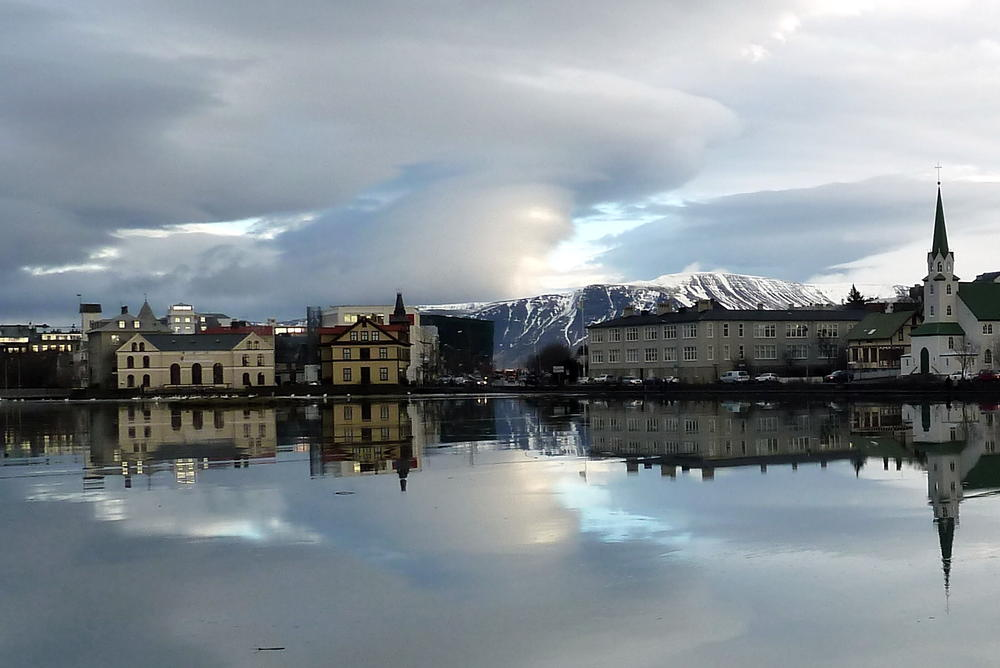 Drangey Sauðárkrókur, Gumbo's Pic of the Day, Sept. 29: Reflections on Reykjavik's ...