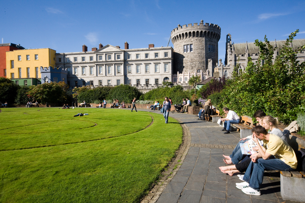 Dublin Castle Dublin, Dublin Castle | Dublin Castle is situated in the very heart … | Flickr