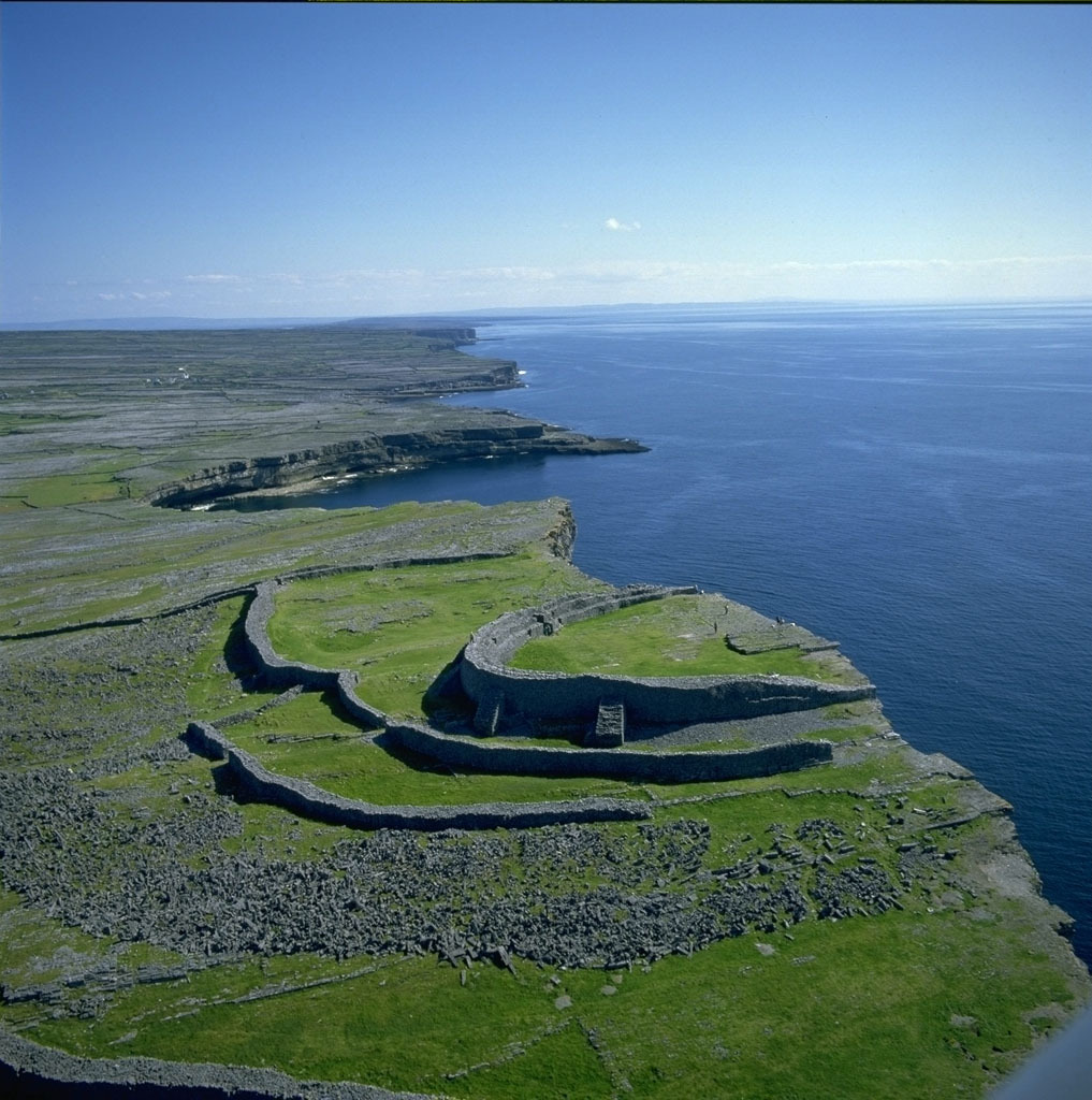 Dun Aengus Inishmore, Ancient to Post-Medieval History - Dun Aengus (Dún Aonghasa ...