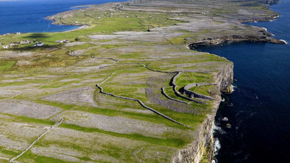 Dun Aengus Inishmore, Emergency works carried out at Dun Aengus monument