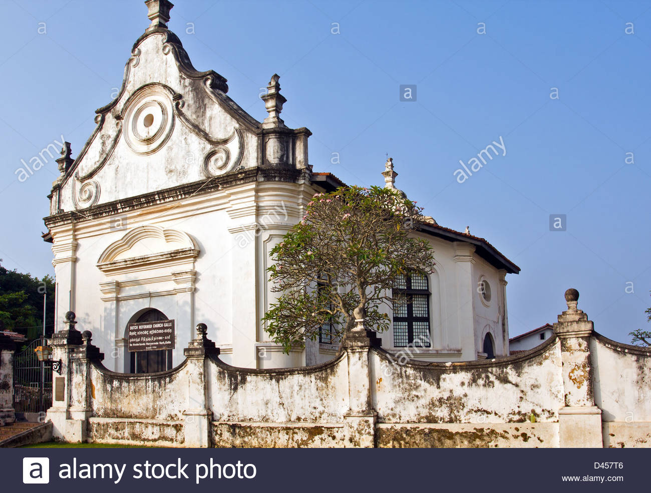 Dutch Reformed Church Oranjestad, THE OLD DUTCH REFORMED CHURCH IN FORT GALLE WHICH CONTAINS SEVERAL ...