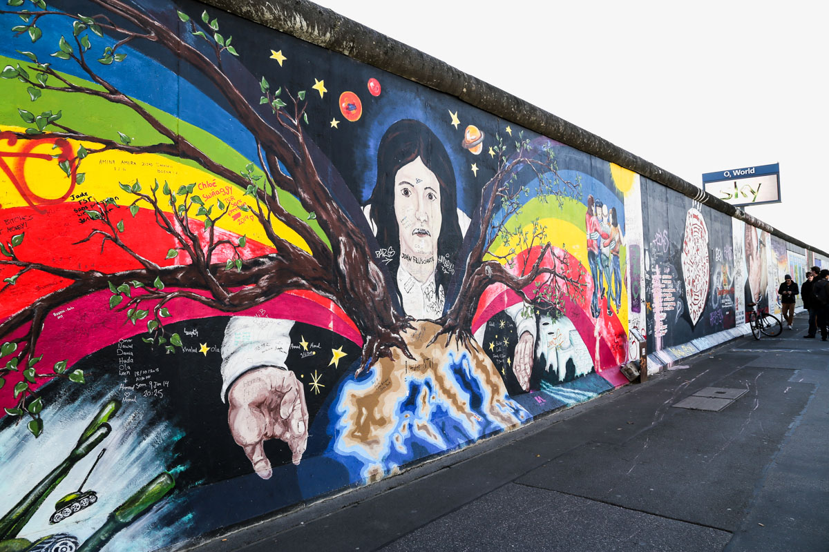 East Side Gallery Berlin, The Berlin Wall's Iconic East Side Gallery - The Wanderblogger