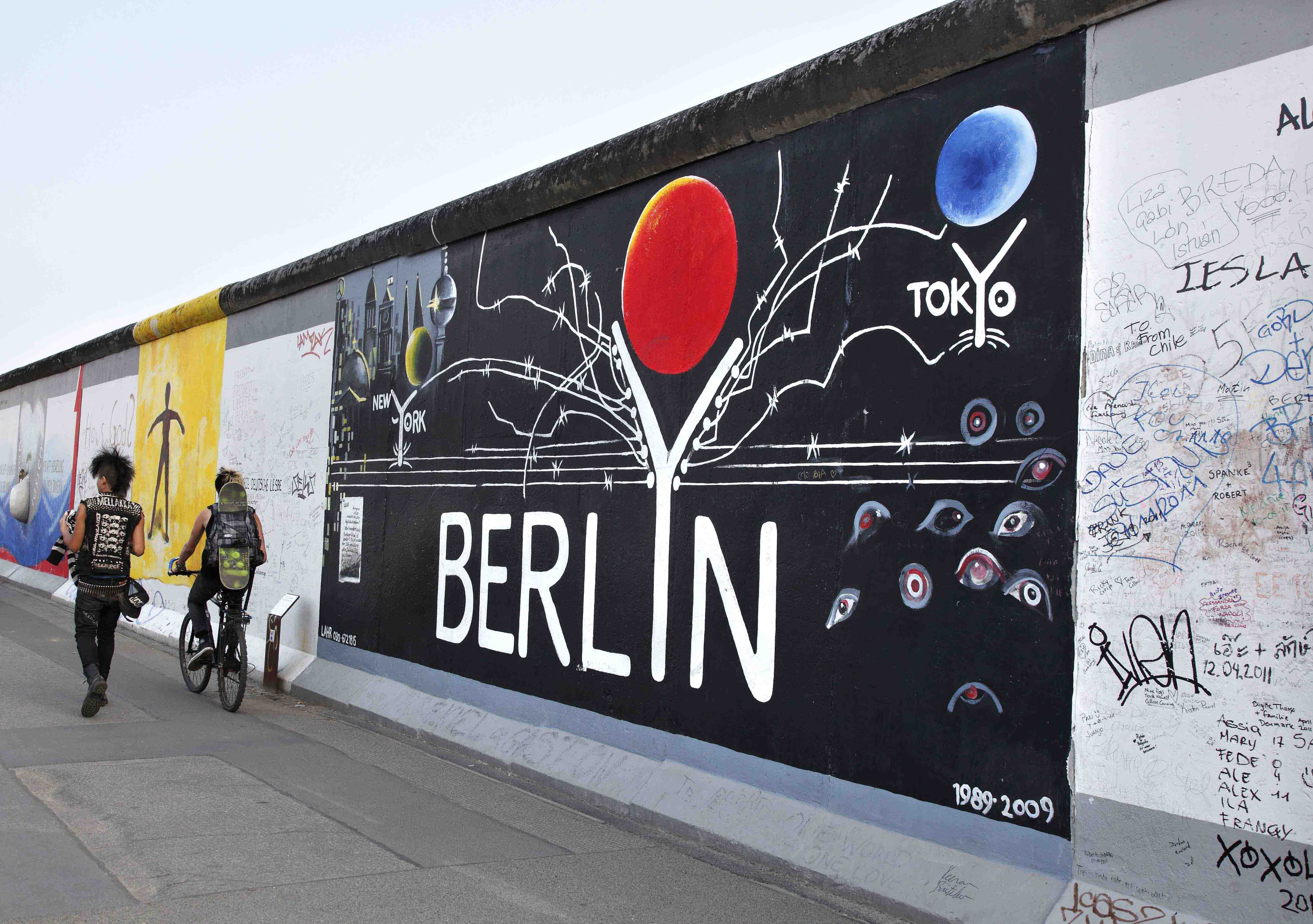 East Side Gallery Berlin, Graffiti vs Street Art at Berlin's East Side Gallery | Young Germany