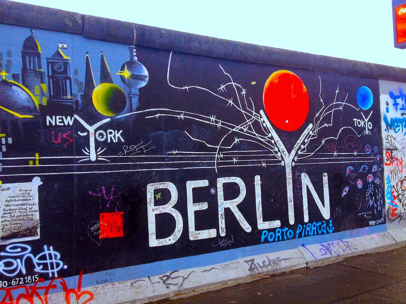 East Side Gallery Berlin, Samantha Angell: Travel & Lifestyle Blog: The World-Famous East ...