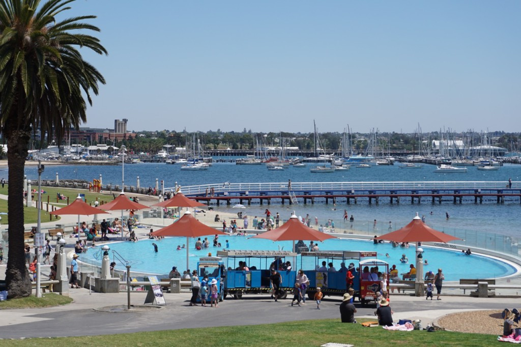 Eastern Beach Geelong, Eastern Beach Geelong   TOT: HOT OR NOT