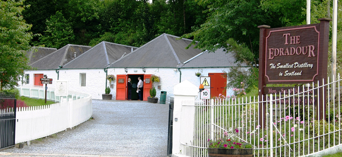 Edradour Distillery Pitlochry, Moulin Hotel | Pitlochry