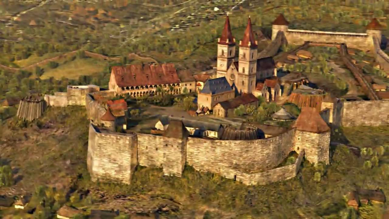 Eger Castle Eger, Animation Movie Trailer - 1552 - Castle of Eger - Hungary - YouTube