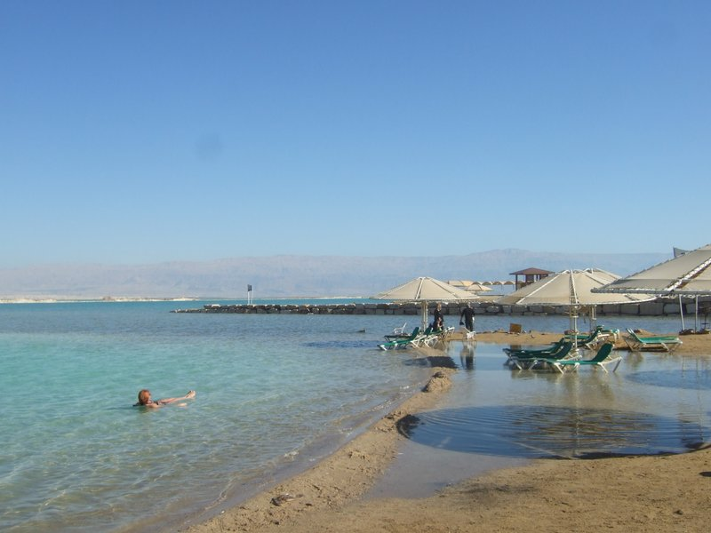 Mineral Beach Around Jerusalem and the Dead Sea, Ein Gedi Beach: A spa and resort located on the shores of the Dead ...