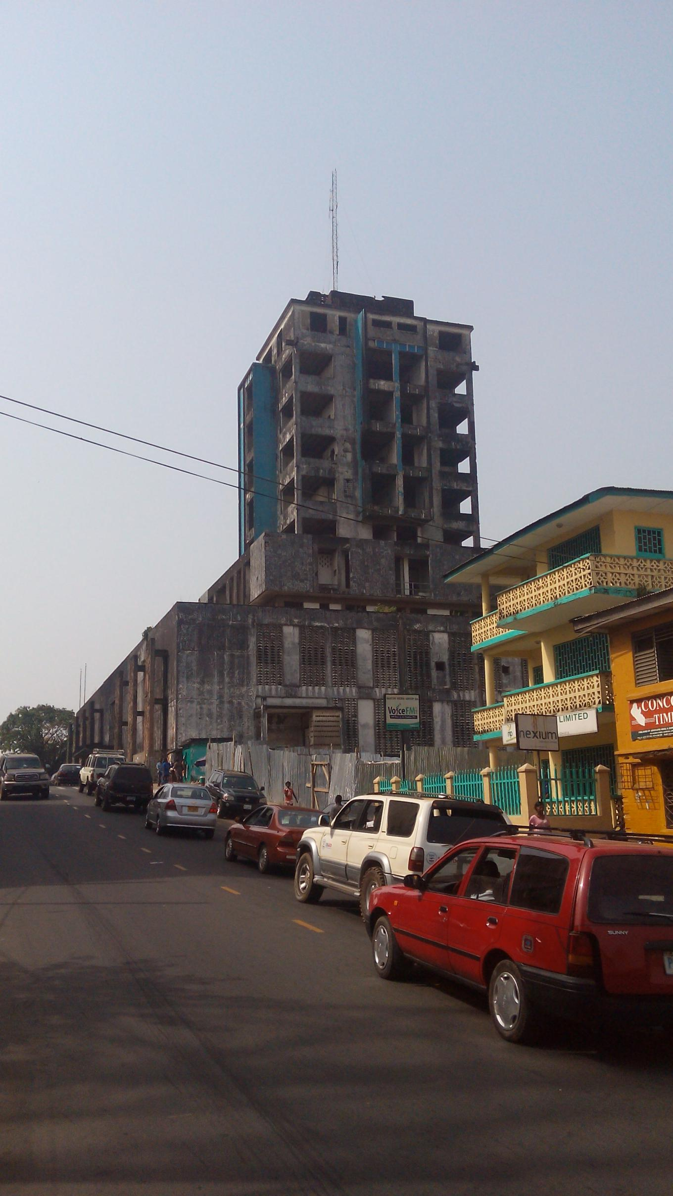 EJ Roye building Monrovia, The Twin Towers of Monrovia - Roads & Kingdoms