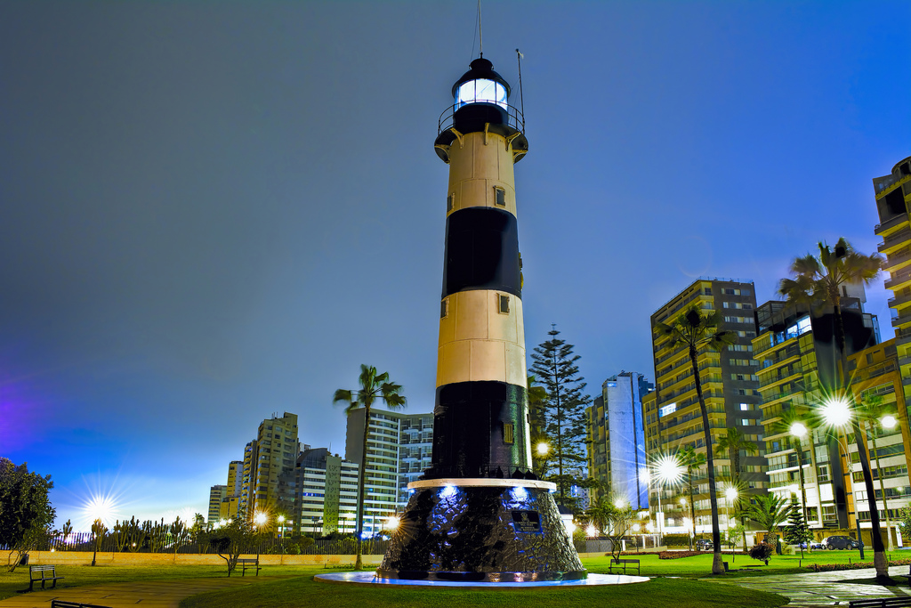 El Faro de la Marina Lima, Faro la Marina, Miraflores district, Lima, Peru, South Ame… | Flickr