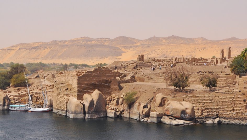 Elephantine Island Aswan, Ancient Statues Discovered On Elephantine Island In Aswan ...
