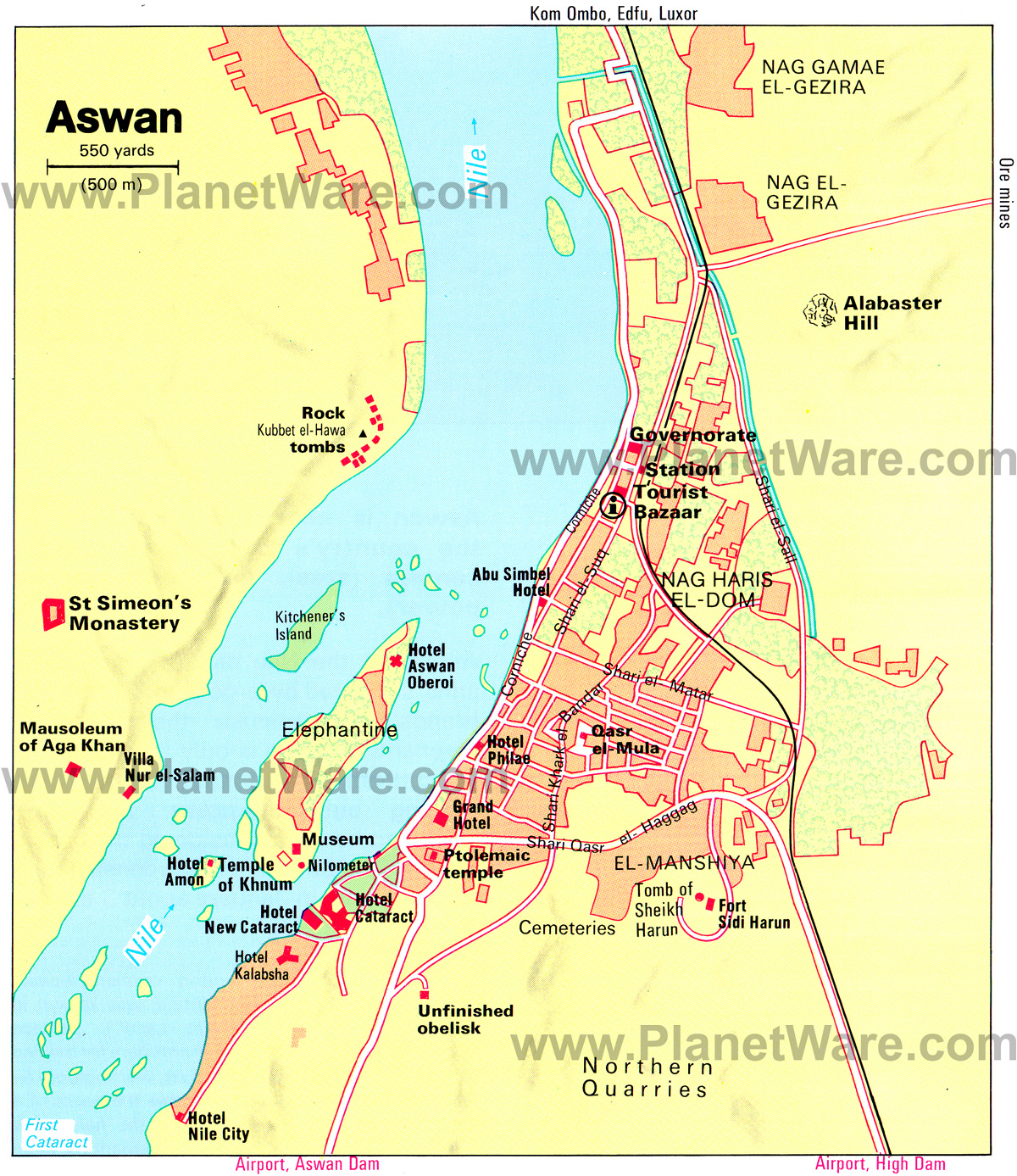 Elephantine Island Aswan, 12 Top Tourist Attractions in Aswan & Easy Day Trips | PlanetWare