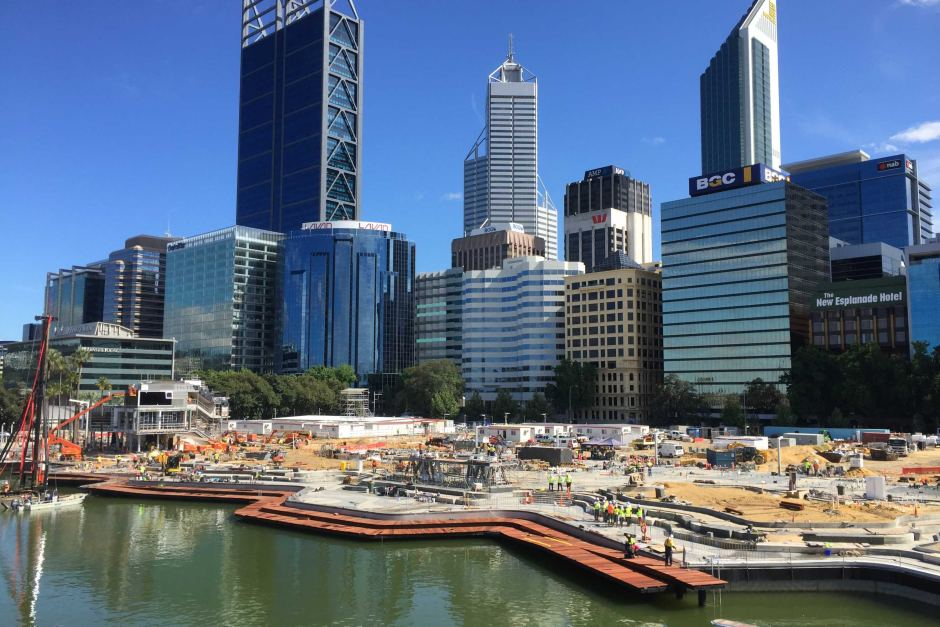 Elizabeth Quay Perth, Elizabeth Quay opening to be marked by Perth's 'biggest ever water ...