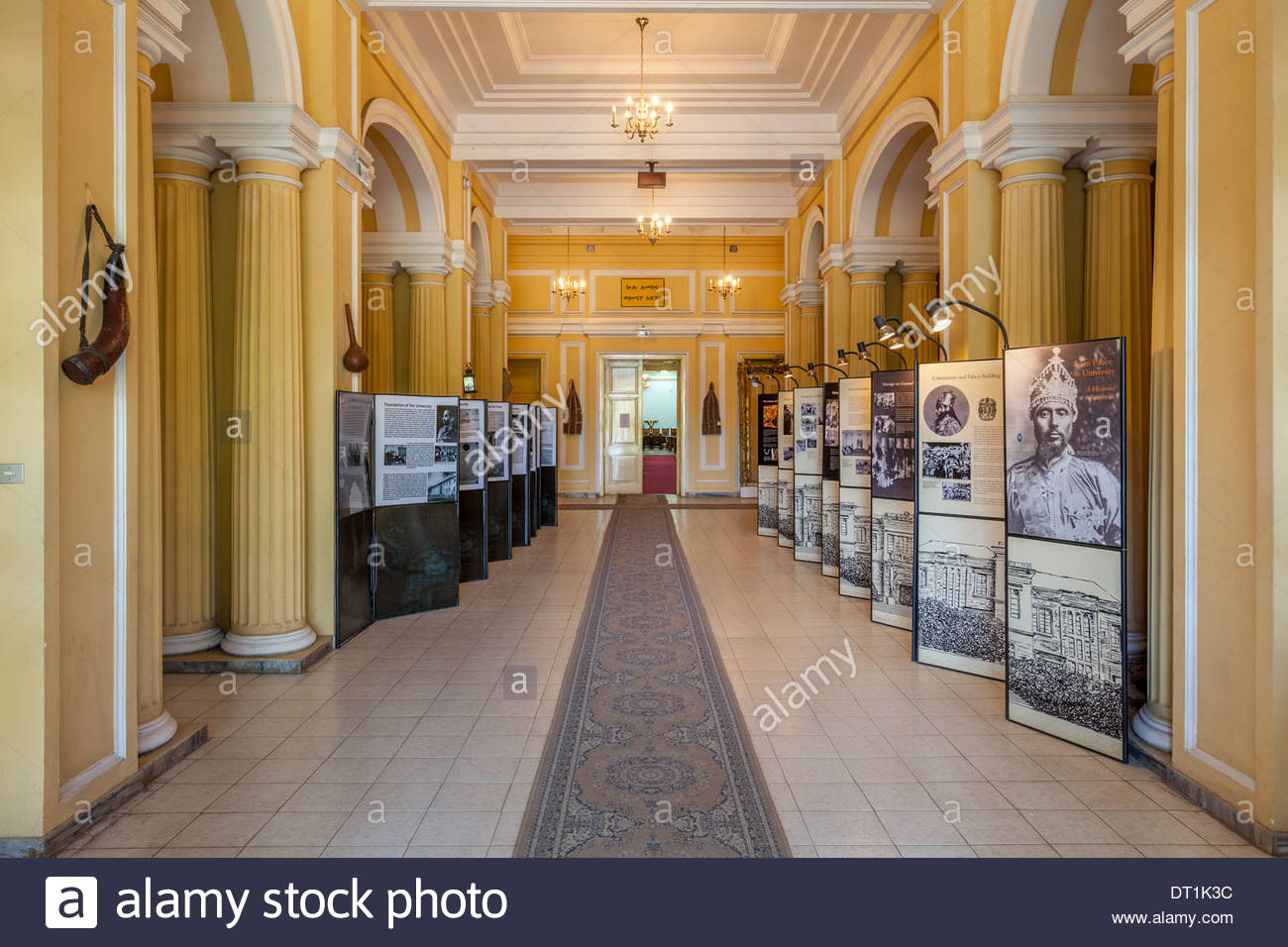 Ethnological Museum Addis Ababa, The Ethnological Museum, Addis Ababa, Ethiopia Stock Photo ...