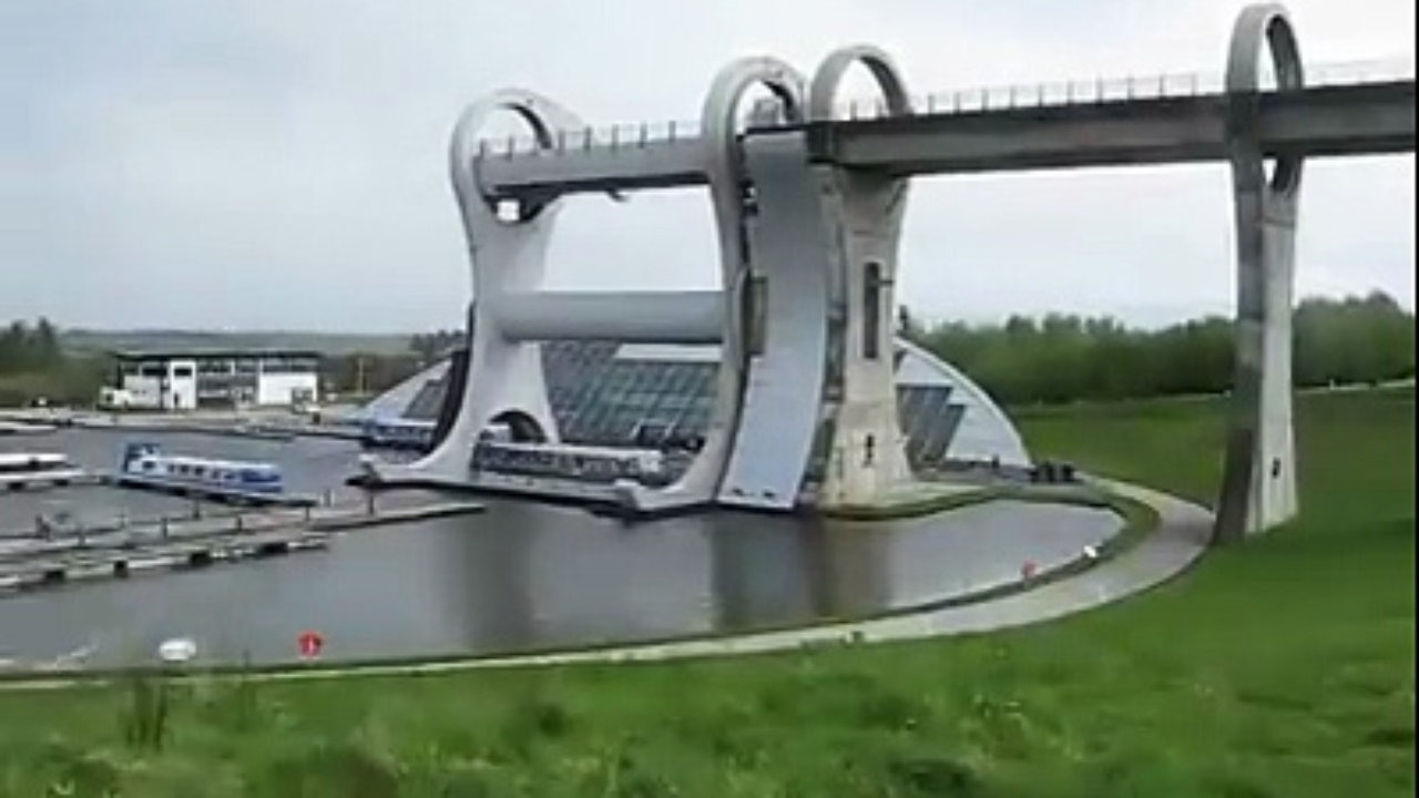 Falkirk Wheel Central Scotland, Falkirk Wheel, Central Scotland A project by RMJM company - Video ...