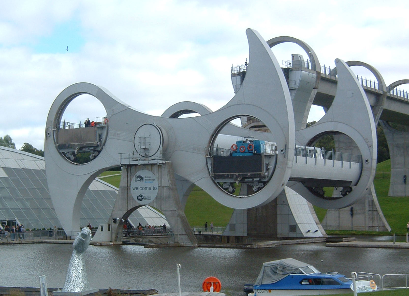 Falkirk Wheel Central Scotland, Falkirk Wheel - Sharenator