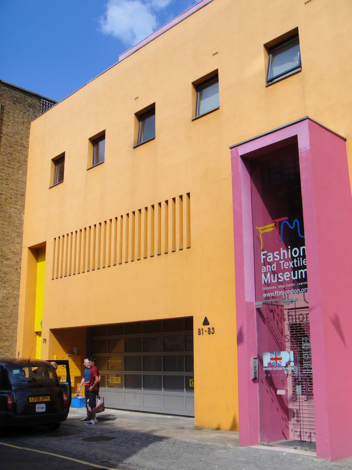 Fashion and Textile Museum London, Brutalism and Booze: Fashion & Textile Museum, Bermonsey High St ...