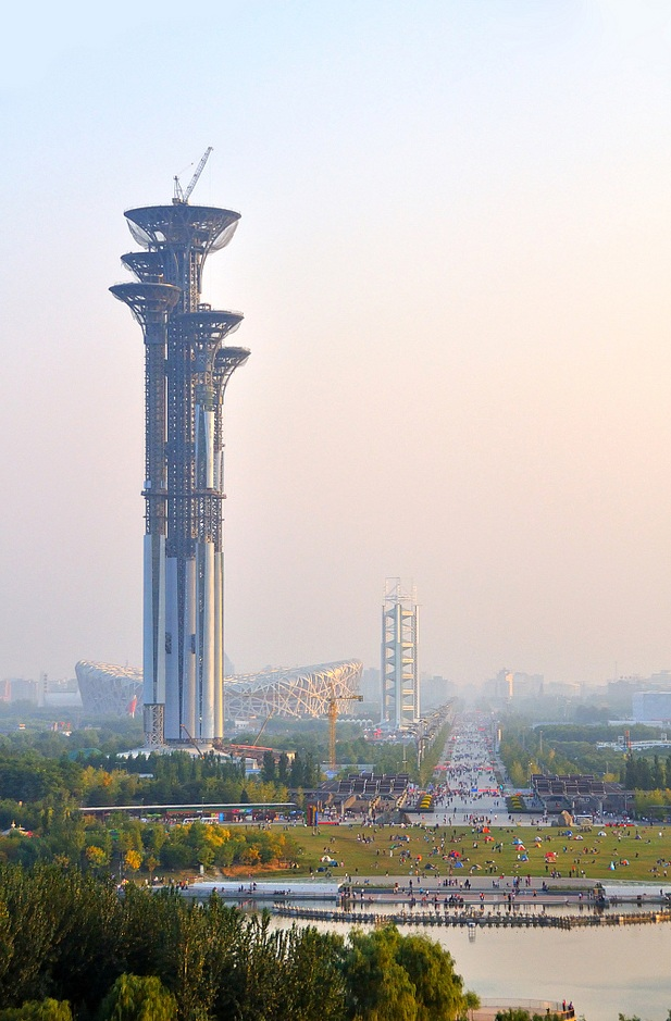 Fasting Palace Běijīng, Beijing Olympic Park Observation Tower | Olympic Games - 2008 ...