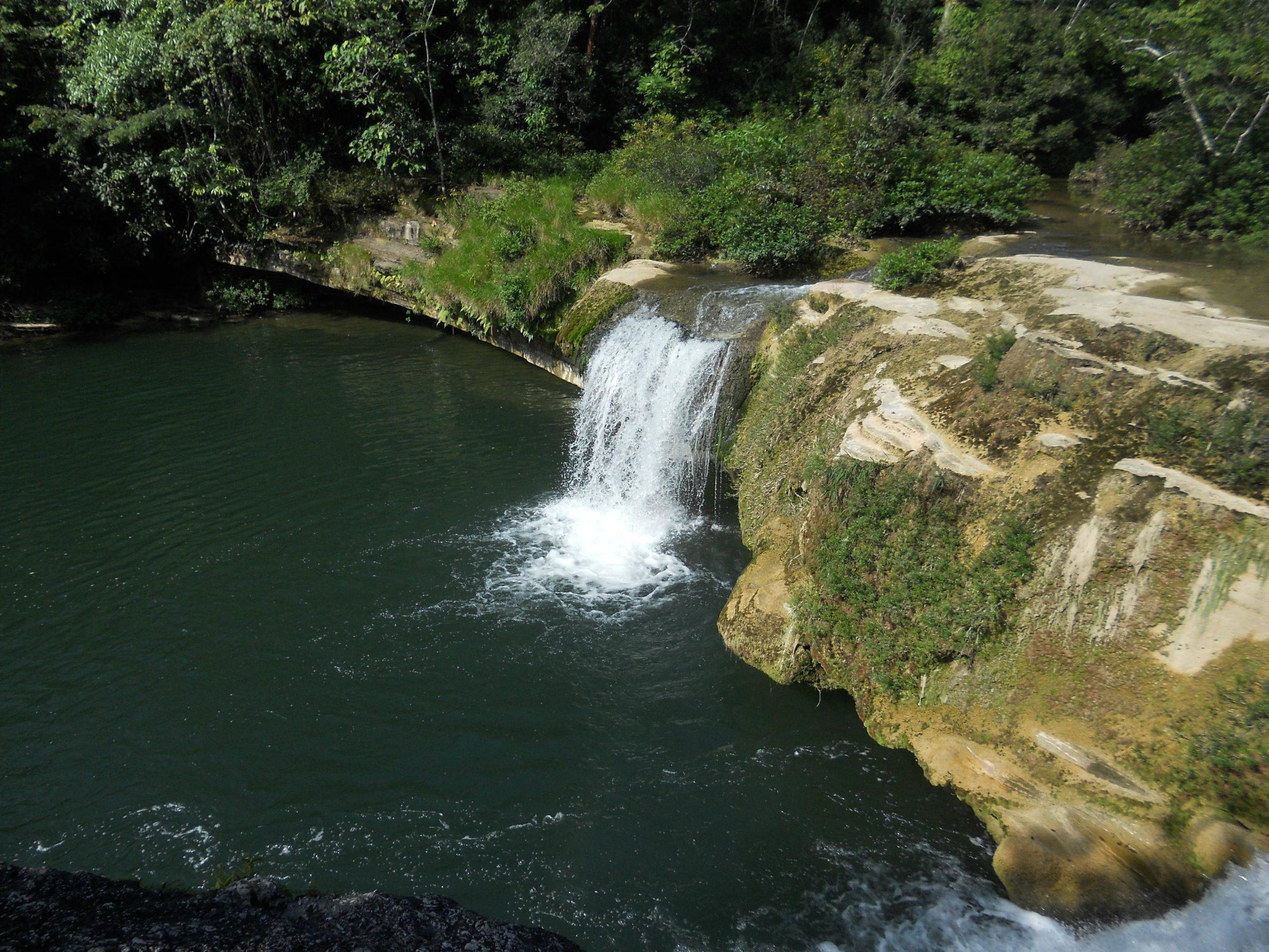 Five Blues Lake National Park The Cayo District, A waterfall at Rio Blanco National Park in Belize | People, Places ...