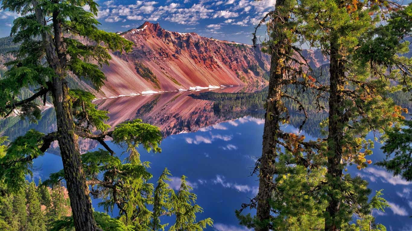 Five Blues Lake National Park The Cayo District, The Watchman Peak in Crater Lake National Park, Oregon (© Dennis ...