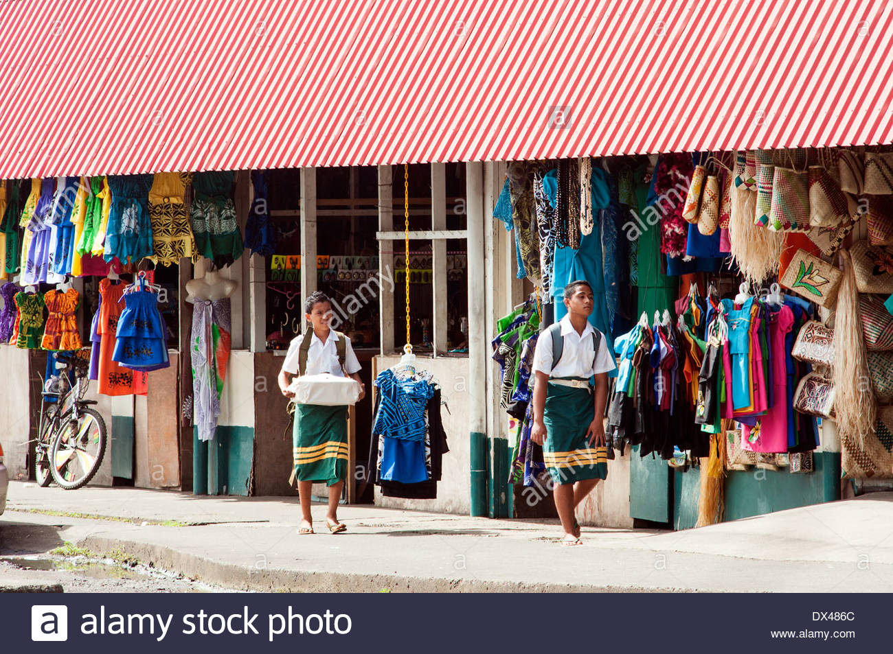 Flea Market Apia, flea market, town Center, Apia, Samoa Stock Photo, Royalty Free ...