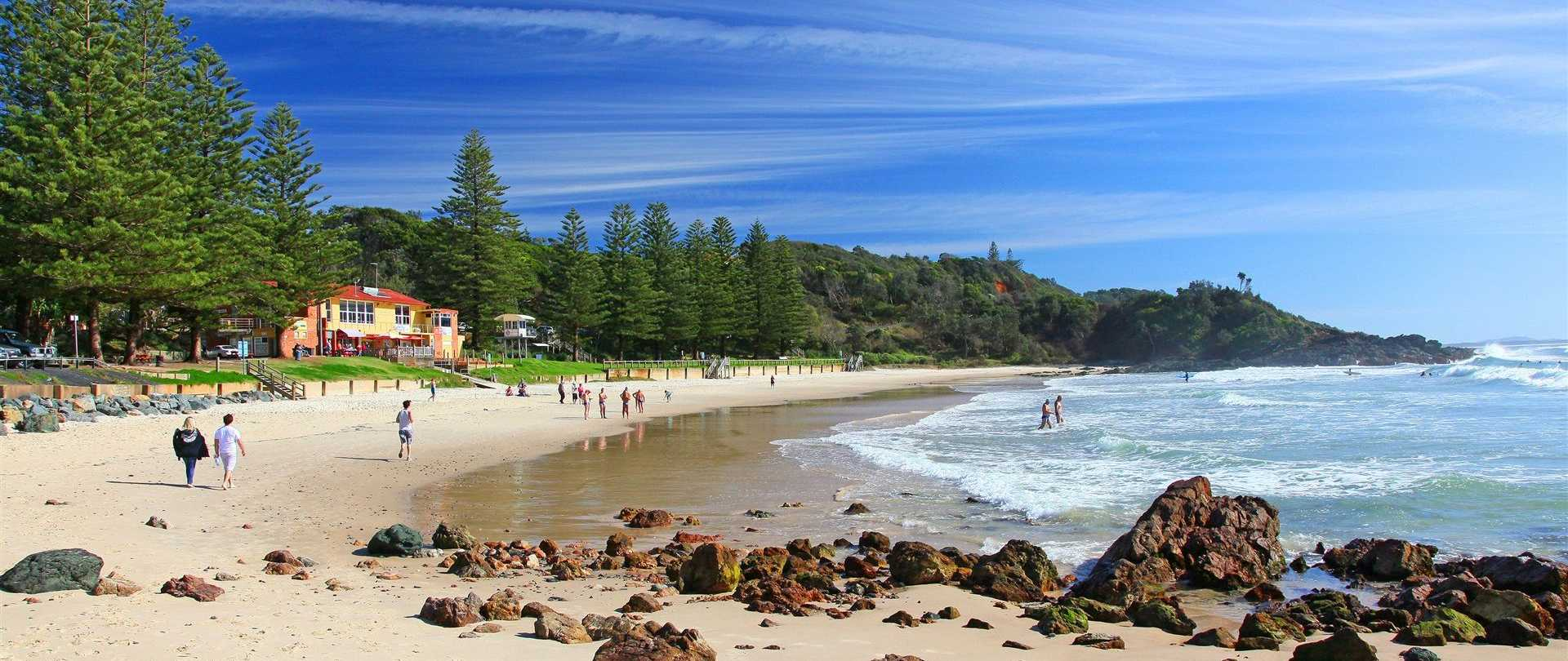 Flynn's Beach Port Macquarie, Flynns Beach Port Macquarie NSW - The Five Star Vagabond